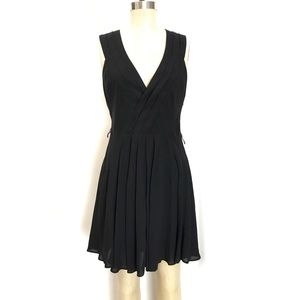 Pre owned Elizabeth and James black silk dress